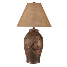 Wildlife Bear Moose Bronze Finish Table Lamp | Coast Lamp | 12-R17D