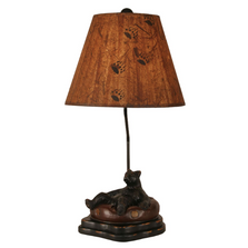 Bear in Inner Tube Riverwoods Table Lamp | Coast Lamp | 12-R19D