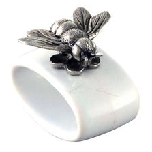 Bee Stoneware Napkin Ring Set | Vagabond House