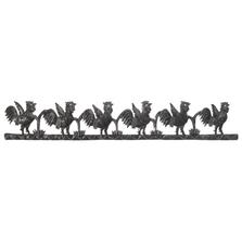 Rooster Strip Metal Wall Art | Le Primitif