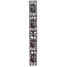 Vertical Four Suns Metal Wall Art | Le Primitif