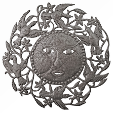 Sun and Birds Metal Wall Art | Le Primitif
