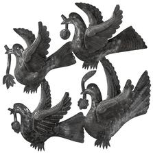 Four Birds Metal Wall Art | Le Primitif