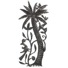 Palm Tree and Birds Metal Wall Art | Le Primitif