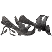 Love Birds Metal Wall Art | Le Primitif