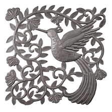 Hummingbird Metal Wall Art | Le Primitif