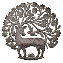 Antlers of Life Metal Wall Art | Le Primitif
