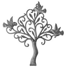 Birds in Bush Metal Wall Art | Le Primitif