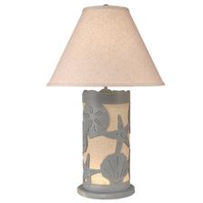 Seaside Villa Multi Shell Table Lamp with Nightlight | Coast Lamp | 16-B15B