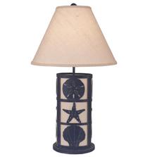 Framed Shells Morning Jewel Table Lamp | Coast Lamp | 16-B15C