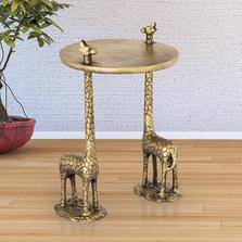 Giraffe Pair End Table | SPI Home