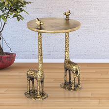 Giraffe Pair End Table | SPI Home