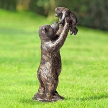 """Bear Garden Sculpture """"Unbearably Cute""""   SPI Home"""