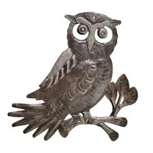 Owl Metal Wall Art | Le Primitif