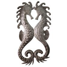 Seahorses Metal Wall Art | Le Primitif