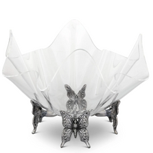 Butterfly Acrylic Bowl with Stand | Arthur Court Designs | 050130