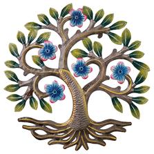 Spring Bloom Tree Painted Metal Wall Art | Le Primitif