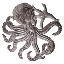 Octopus Small Metal Wall Art | Le Primitif