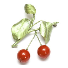 Cherry Pin | Michael Michaud Jewelry | SS5626bzrj