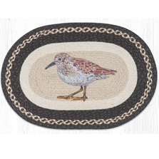 Sandpiper Oval Braided Rug | Capitol Earth Rugs | OP-599