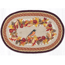 Autumn Oriole Oval Braided Rug | Capitol Earth Rugs | OP-431