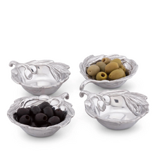 Olive Oil and Sauce Bowl Set of 4 | Arthur Court Designs | 134G12