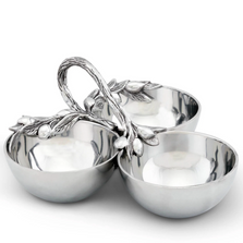 Olive Serving Bowls | Arthur Court Designs | 114G12