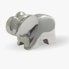 Elephant Silver Plated Sculpture | RV03 | D'Argenta