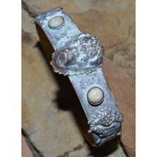 Buffalo Patina Brass Cuff Bracelet | Elaine Coyne Jewelry | BW54BC