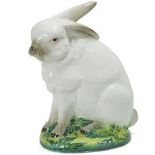 Bunny Sitting Ceramic Sculpture | Intrada Italy | HOP9051
