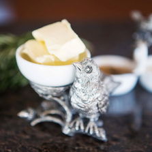 Songbird Salt Bowl or Butter Dish | Vagabond House | K125BN