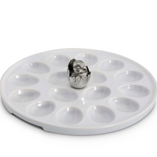 Little Chick Deviled Egg Holder Tray | Vagabond House | G303LC