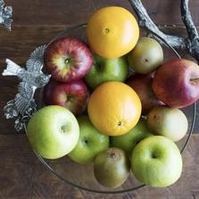 Songbird Glass Fruit Bowl | Vagabond House | K413L