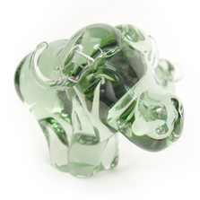 Recycled Glass Buffalo Sculpture | Mbare | NG04-B