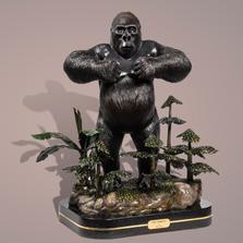 The Gorilla Limited Edition Bronze Sculpture   Barry Stein   THEGORILLA