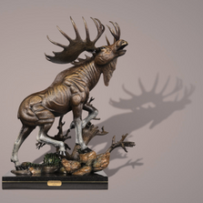 The Moose Limited Edition Bronze Sculpture | Barry Stein | THEMOOSE
