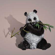Giant Panda Bronze Sculpture | Barry Stein | THEPANDA