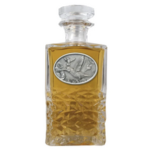 Hummingbird Heritage Decanter | Heritage Pewter | HD134