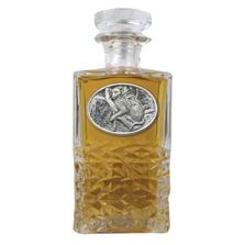 Leopard Heritage Decanter | Heritage Pewter | HD137