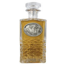 Cape Buffalo Heritage Decanter | Heritage Pewter | HD121