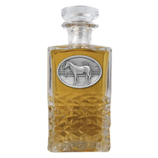 Racehorse Heritage Decanter | Heritage Pewter | HD129