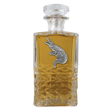 Alligator Heritage Decanter | Heritage Pewter | HD3770
