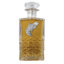 Salmon Heritage Decanter | Heritage Pewter | HD3690