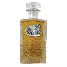 Frog Heritage Decanter | Heritage Pewter | HD4114
