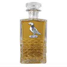 Puffin Heritage Decanter | Heritage Pewter | HD3570