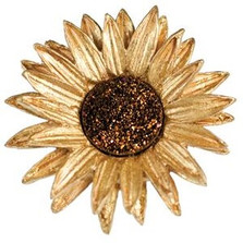 Sunflower Pin | Michael Michaud Jewelry | SS5800bzbd -2