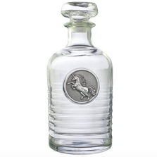 Unicorn Geneva Decanter | Heritage Pewter | GD4282