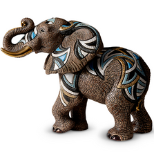 African Elephant Ltd Edition Ceramic Figurine | De Rosa | 468