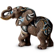 African Elephant Ltd Edition Ceramic Figurine | De Rosa | 468