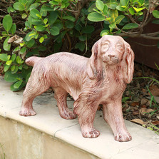 Retriever Puppy Sculpture Outdoor Garden Statue | SPI Home | 21019